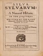 Cubierta para Sylva sylvarum or  A naturall historie in ten centuries