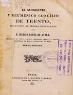 Cubierta para El sacrosanto y ecuménico Concilio de Trento