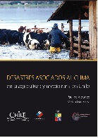 Cubierta para Desastres asociados al clima en la agricultura y medio rural en Chile
