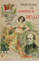 Cubierta para Poesías de Andrés Bello: precedidas de un estudio biográfico y crítico por don Miguel Antonio Caro