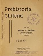 Cubierta para Prehistoria chilena