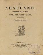 Cubierta para El araucano: costumbres de los indios : novela