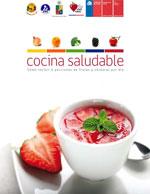 Cubierta para Cocina saludable: cómo incluir 5 porciones de frutas y verduras por día
