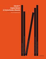 Cubierta para Actas del 1er. Congreso nacional de ciencias sociales y educación: 22, 23 y 24 de septiembre de 2011
