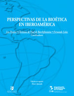 Cubierta para Perspectivas de la bioética en Iberoamérica