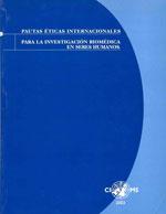Cubierta para Pautas éticas internacionales para la investigación biomédica en seres humanos