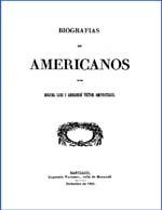 Cubierta para Biografías de americanos