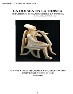 Cubierta para La Odisea en la Odisea: estudios y ensayos sobre la Odisea de Kazantzakis
