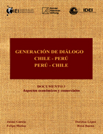 Cubierta para Generación de diálogo Chile-Perú / Perú-Chile: documento 3: aspectos económicos y comerciales
