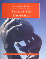 Cubierta para Temas de bioética: una introducción