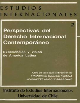 Cubierta para Perspectivas del derecho internacional contemporáneo: experiencias y visión de América Latina: volumen 2: la solución pacífica de controversias