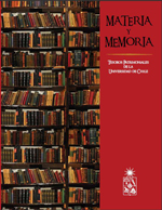 Cubierta para Materia y memoria: tesoros patrimoniales de la Universidad de Chile
