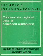 Cubierta para Cooperación regional para la seguridad alimentaria