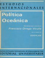 Cubierta para Política oceánica