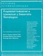 Cubierta para Propiedad industrial e intelectual y desarrollo tecnológico