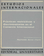 Cubierta para Prácticas restrictivas y discriminatorias en el comercio internacional