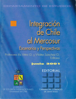 Cubierta para Integración de Chile al Mercosur: escenarios y perspectivas