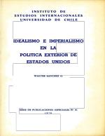 Cubierta para Idealismo e imperialismo en la política exterior de Estados Unidos