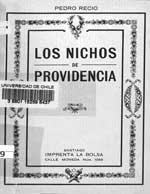 Cubierta para Los nichos de Providencia en los antiguos tajamares
