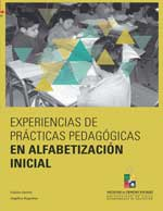Cubierta para Experiencias de prácticas pedagógicas en alfabetización inicial