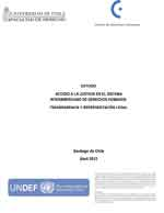 Cubierta para Acceso a la justicia en el Sistema Interamericano de Derechos Humanos: transparencia y representación legal