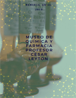 Cubierta para Museo de Química y Farmacia Profesor César Leyton: Memoria anual 2018