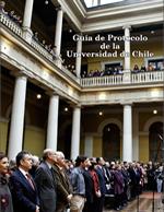 Cubierta para Guía de protocolo de la Universidad de Chile