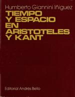 Cubierta para Tiempo y espacio en Aristóteles y Kant