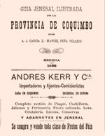Cubierta para Guía jeneral ilustrada de la Provincia de Coquimbo
