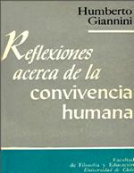 Cubierta para Reflexiones acerca de la convivencia humana