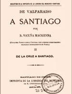 Cubierta para De Valparaíso a Santiago