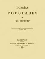 Cubierta para Poesías populares. Tomo VI
