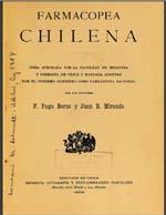 Cubierta para Farmacopea chilena