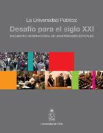 Cubierta para La Universidad Pública: Desafío para el siglo XXI