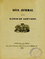 Cubierta para Guía jeneral de la ciudad de Santiago