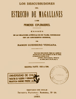 Cubierta para Los descubridores del Estrecho de Magallanes: i sus primeros exploradores