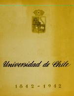 Cubierta para Universidad de Chile: 1842-1942