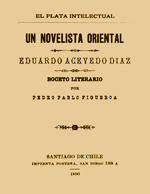 Cubierta para Un novelista oriental: Eduardo Acevedo Díaz : boceto literario