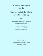 Cubierta para Reseña histórica de la Universidad de Chile: (1622-1979)