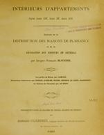 Cubierta para Intérieurs d'appartements: styles Louis XIV, Louis XV, Louis XVI