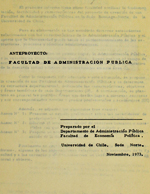 Cubierta para Anteproyecto Facultad de Administración Pública