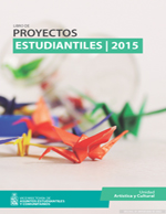 Cubierta para Libro de proyectos estudiantiles 2015