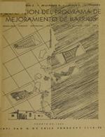 Cubierta para Aplicación del programa de mejoramiento de barrios: Análisis físico espacial en cuatro regiones del país