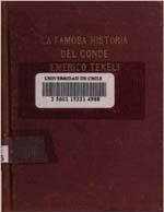 Cubierta para La famosa historia del Conde Emrico Tekeli