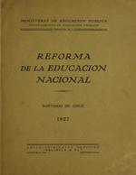 Cubierta para Reforma de la educación nacional
