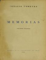 Cubierta para Memorias: recuerdos de un emigrado