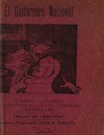 Cubierta para El guitarrero nacional: hermoso folleto de canciones, cuecas, tonadas i zarzuelas