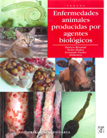 Cubierta para Enfermedades animales producidas por agentes biológicos