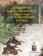 Cubierta para Antecedentes sobre la biología de Xenopus laevis y su introducción en Chile