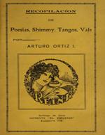 Cubierta para Recopilación de poesías, shimmy, tangos y vals